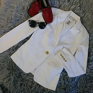 Banana Republic white jacket blazer